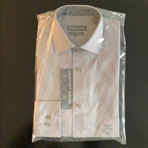 Geoffrey Beene Slim Fit Stretch-Collared shirt